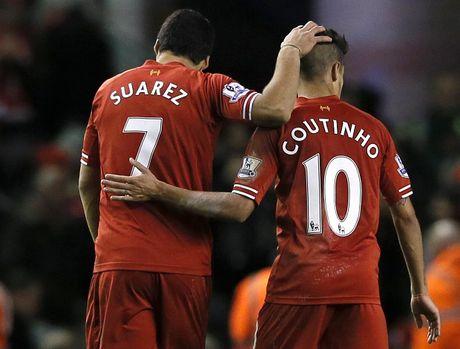 Liverpool co the mat Coutinho vi Luis Suarez - Anh 1