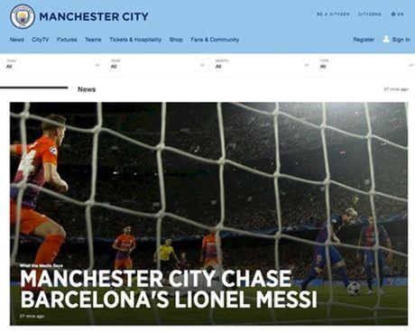 Cuc NONG vu Messi: Man City 'lat bai ngua' - Anh 2