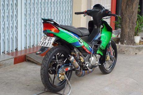 'Xe no 2 ky' Yamaha Z125 thet gia 200 trieu tai Sai Gon - Anh 10