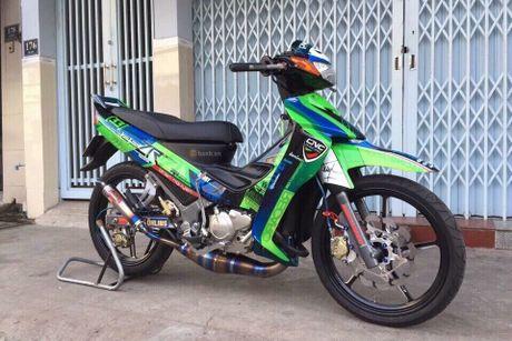'Xe no 2 ky' Yamaha Z125 thet gia 200 trieu tai Sai Gon - Anh 1