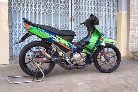 'Xe no 2 ky' Yamaha Z125 thet gia 200 trieu tai Sai Gon - Anh 2