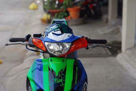 'Xe no 2 ky' Yamaha Z125 thet gia 200 trieu tai Sai Gon - Anh 3