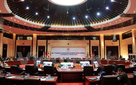 Hoi nghi Thi truong thu do cac nuoc ASEAN lan thu 4 tai Lao - Anh 1