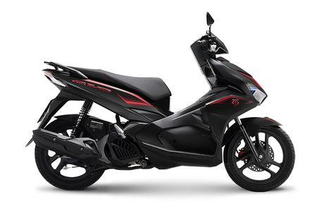 Honda Air Blade 125cc co them mau son den mo - Anh 1
