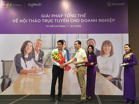 Giai phap Video Conference cho doanh nghiep - Anh 1