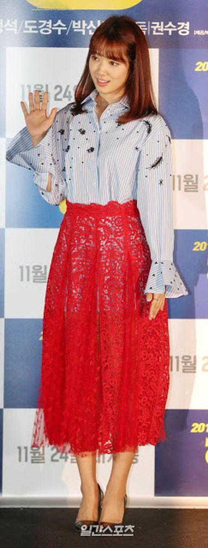 Park Shin Hye mac vay kho hieu, lo nhuoc diem chan - Anh 3