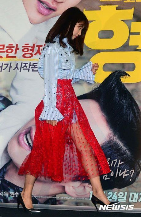 Park Shin Hye mac vay kho hieu, lo nhuoc diem chan - Anh 6