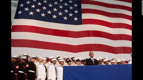 Nhung hinh anh an tuong nhat cua Tong thong Obama - Anh 7