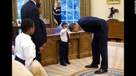 Nhung hinh anh an tuong nhat cua Tong thong Obama - Anh 4