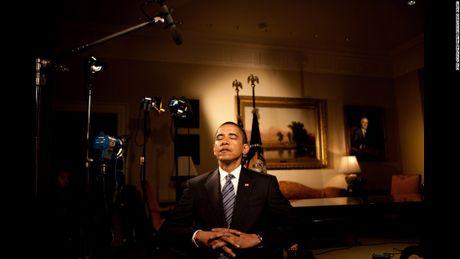 Nhung hinh anh an tuong nhat cua Tong thong Obama - Anh 5