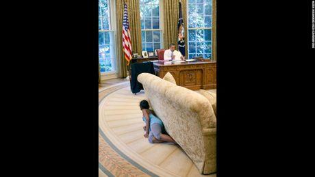 Nhung hinh anh an tuong nhat cua Tong thong Obama - Anh 6