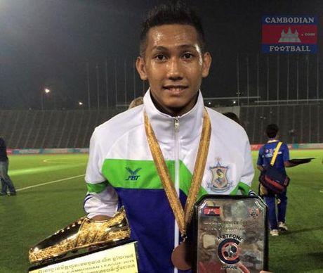 AFF SUZUKI CUP 2016: Chan Vathanaka - 'Nhung chien binh Angkor' - Anh 1