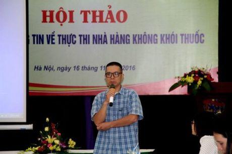Nha hang khac biet hon va van tang doanh thu du khong khach hut thuoc - Anh 3