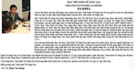 'Hoc vien' Kinh te Sang tao thach thuc Doan kiem tra lien nganh Ha Noi? - Anh 2