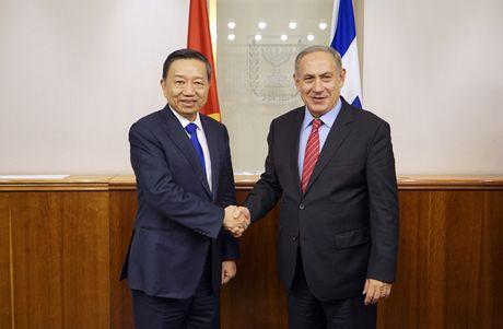 Bo truong To Lam chao xa giao Thu tuong Israel Benjamin Netanyahu - Anh 1