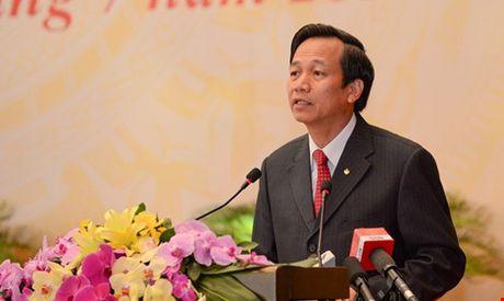 Bo truong LD-TB&XH Dao Ngoc Dung: Doi moi toan dien giao duc nghe nghiep - Anh 1