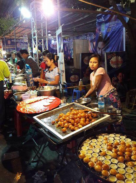 Thien duong an uong o pho dem Yangon - Anh 10