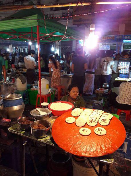 Thien duong an uong o pho dem Yangon - Anh 11