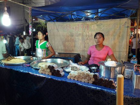 Thien duong an uong o pho dem Yangon - Anh 6
