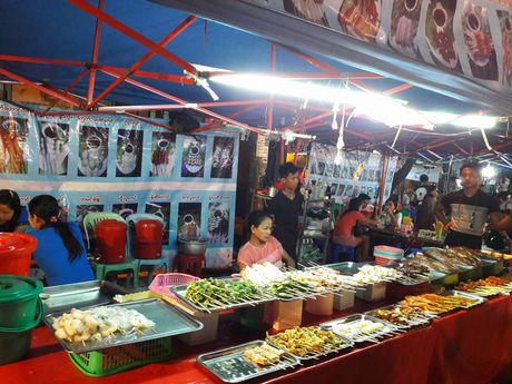 Thien duong an uong o pho dem Yangon - Anh 7