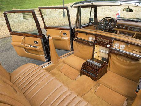 Mercedes 600 Pullman Landaulet - limo tong thong hang hiem - Anh 12