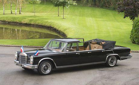 Mercedes 600 Pullman Landaulet - limo tong thong hang hiem - Anh 1