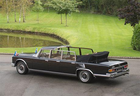 Mercedes 600 Pullman Landaulet - limo tong thong hang hiem - Anh 2