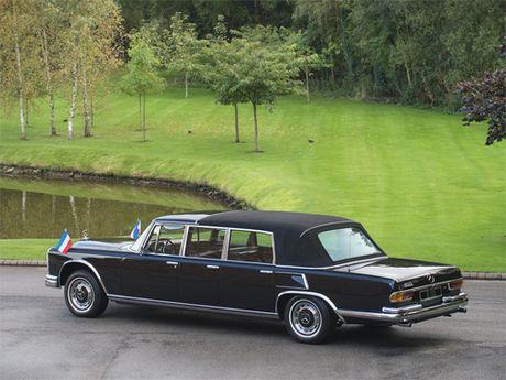 Mercedes 600 Pullman Landaulet - limo tong thong hang hiem - Anh 3