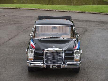 Mercedes 600 Pullman Landaulet - limo tong thong hang hiem - Anh 4