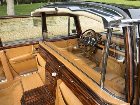 Mercedes 600 Pullman Landaulet - limo tong thong hang hiem - Anh 8