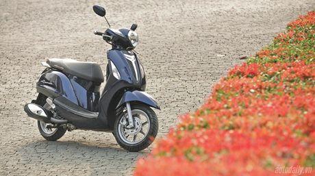 Yamaha Nozza Grande bi trieu hoi vi rung giat khi su dung o van toc thap - Anh 1