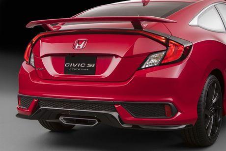 Honda Civic 2017 ra mat ban nang cap the thao - Anh 1