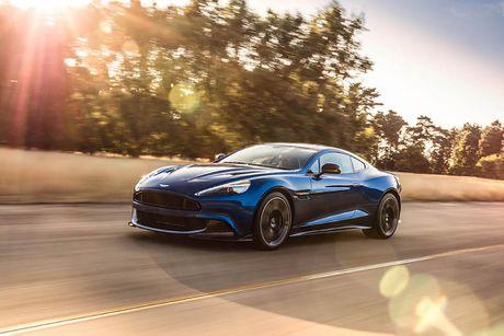 Trinh lang sieu xe Aston Martin Vanquish S 2018 the he moi - Anh 2