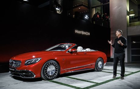 Can canh 'hang khung' Mercedes-Maybach S 650 Cabriolet vua ra lo - Anh 1