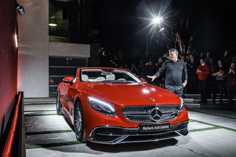 Can canh 'hang khung' Mercedes-Maybach S 650 Cabriolet vua ra lo - Anh 2