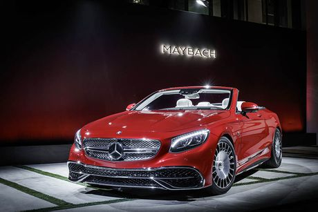 Can canh 'hang khung' Mercedes-Maybach S 650 Cabriolet vua ra lo - Anh 4