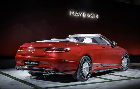 Can canh 'hang khung' Mercedes-Maybach S 650 Cabriolet vua ra lo - Anh 5