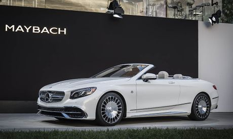 Can canh 'hang khung' Mercedes-Maybach S 650 Cabriolet vua ra lo - Anh 8