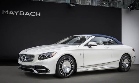 Can canh 'hang khung' Mercedes-Maybach S 650 Cabriolet vua ra lo - Anh 9