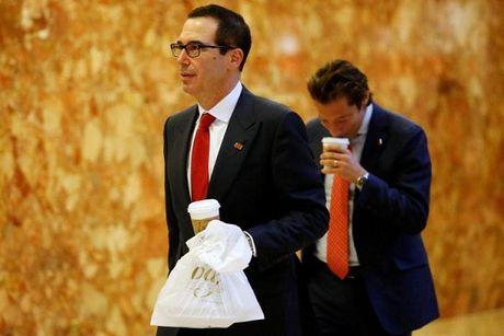 Ong Trump dua 2 tro thu pho Wall len dieu hanh kinh te - Anh 1
