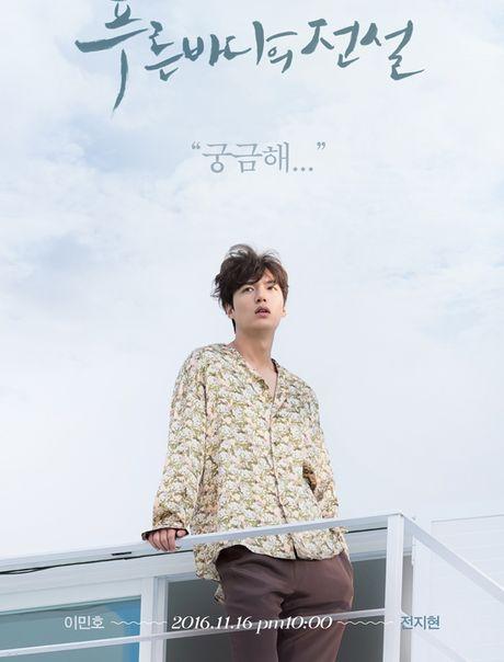 Lee Min Ho bien hoa nhu tac ke trong Huyen thoai bien xanh - Anh 1