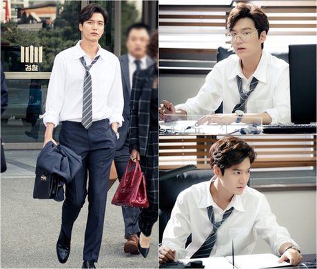 Lee Min Ho bien hoa nhu tac ke trong Huyen thoai bien xanh - Anh 2