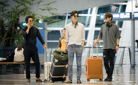 Lee Min Ho bien hoa nhu tac ke trong Huyen thoai bien xanh - Anh 5