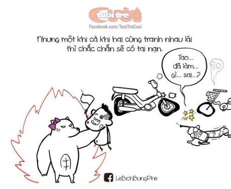 Chuyen xe cuoc doi: chon ban dong hanh hay chon co don? - Anh 2