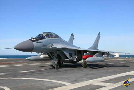 So phan long dong cua tiem kich ham MiG-29K Nga - Anh 1