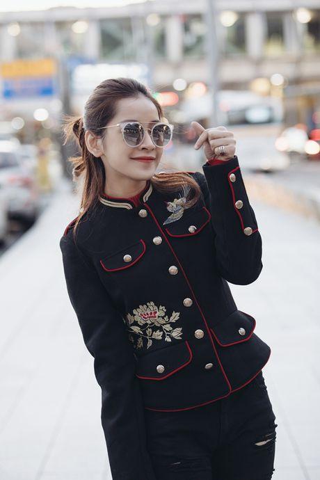 Chi Pu duoc Lee Sarah tiep don nong nhiet, hoi ngo MONSTAR tai Han Quoc - Anh 10
