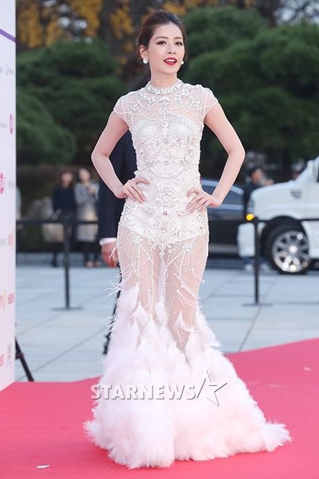 Tham do Asia Artist Awards: Yoona, Suzy, Chi Pu do style cong chua, Park Shin Hye bi che dien do 'ba co' - Anh 3
