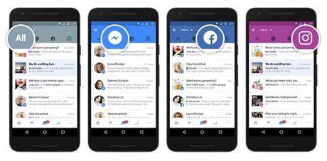Facebook ra tinh nang mot inbox chung cho ca Facebook, Messenger va Instagram - Anh 1