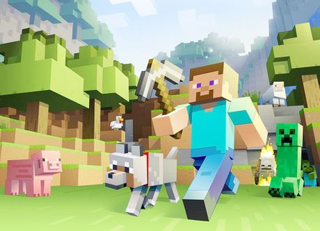 Microsoft mien phi game MineCraft cho hoc sinh lap trinh - Anh 1