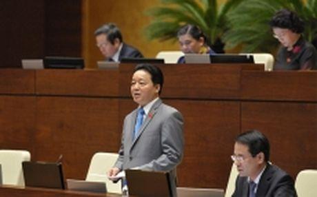 Bo truong Tran Hong Ha lan thu ba khang dinh bien mien trung da an toan - Anh 1